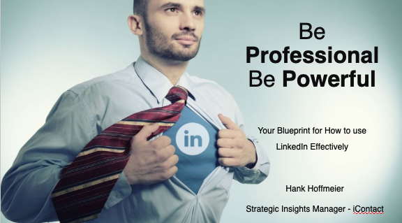 Hank Hoffmeier Using LinkedIn