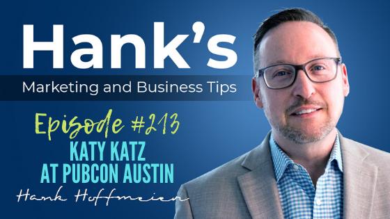 HMBT 213 Katy Katz at Pubcon Austin